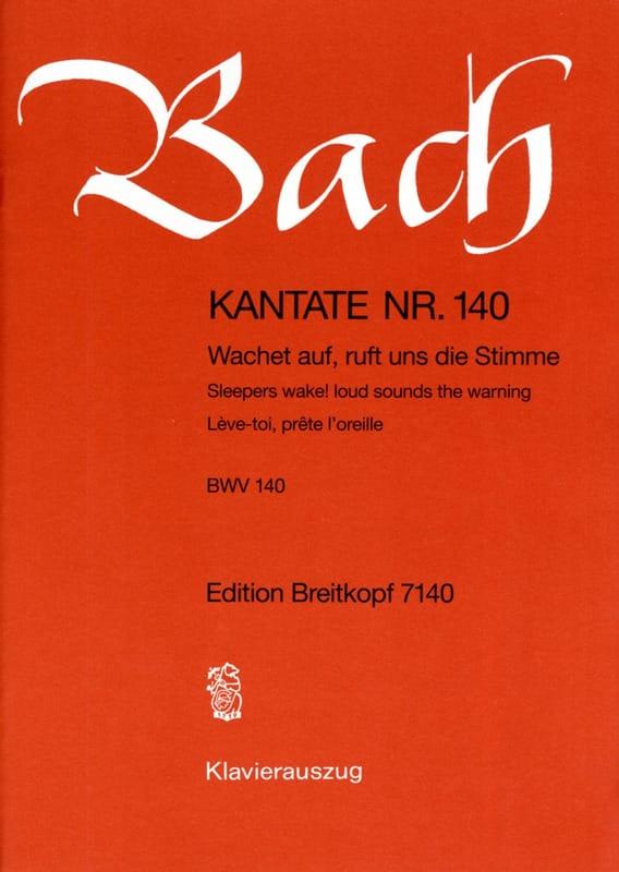 Cantate 140 Wachet Auf, Ruft Uns Die Stimme - BACH - laflutedepan.com