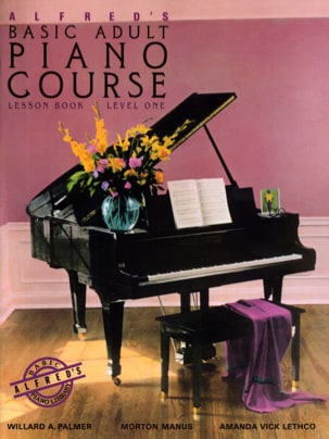 Alfred's Basic Adult Piano Course Vol. 1 ALFRED Partition laflutedepan