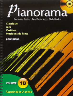 Pianorama 1B Partition Piano - laflutedepan