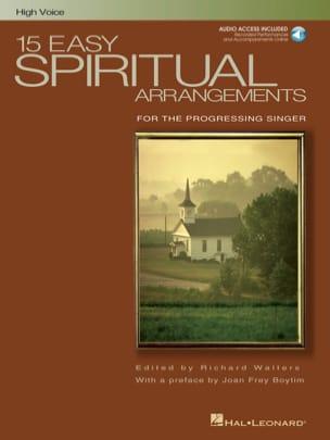 15 Easy Spirituals Arrangements. Voix Haute - laflutedepan.com