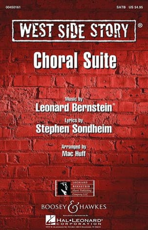 West Side Story Choral Suite SATB BERNSTEIN Partition laflutedepan