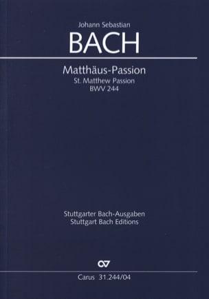 Passion selon Saint Matthieu - BWV 244 laflutedepan