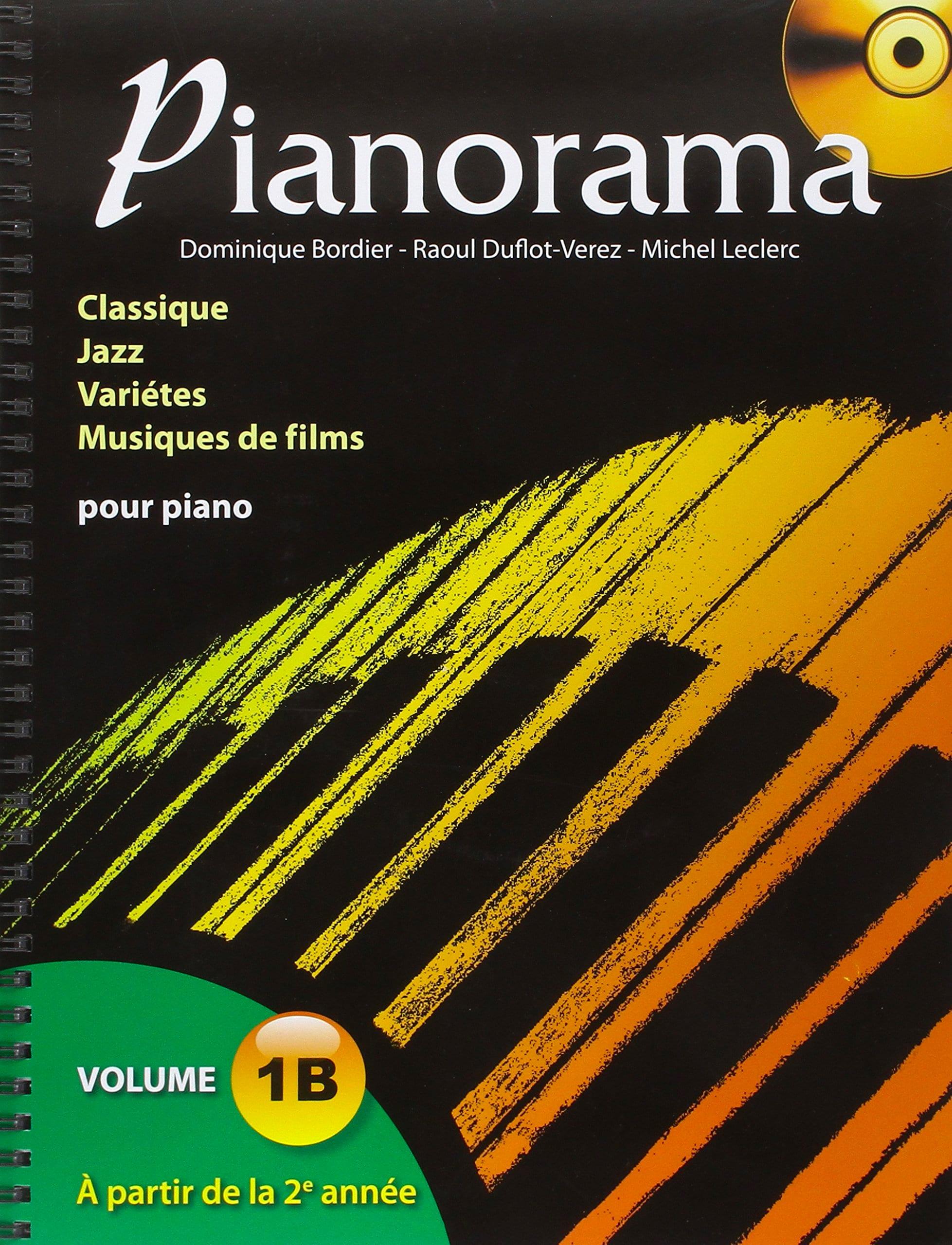 Pianorama 1B - Partition - Piano - laflutedepan.com