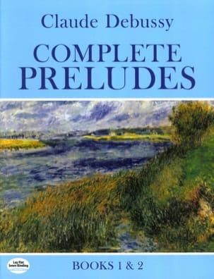 Complete Preludes DEBUSSY Partition Piano - laflutedepan