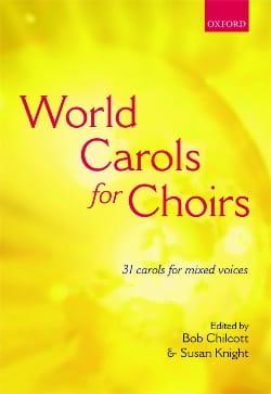 World Carols For Choir. Partition Chœur - laflutedepan