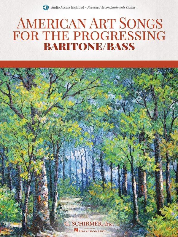 American art Songs for the progressing. Baryton / Basse - laflutedepan.com