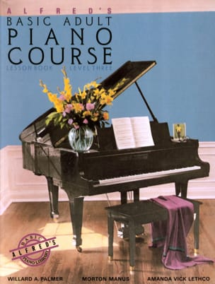 Alfred's Basic Adult Piano Course - Volume 3 ALFRED laflutedepan