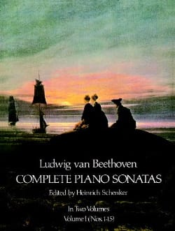 Complete Sonatas Volume 1 BEETHOVEN Partition Piano - laflutedepan