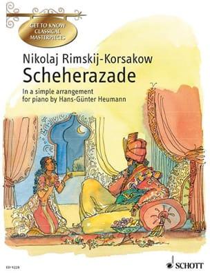 Scheherazade Opus 35 RIMSKY-KORSAKOV Partition Piano - laflutedepan