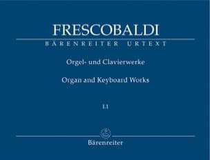 Oeuvres pour Orgue et Clavier. Volume 1-1 FRESCOBALDI laflutedepan