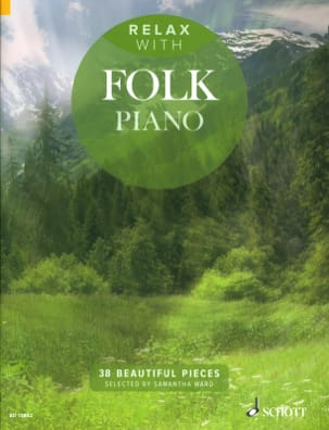 Relax with folk piano Partition Piano - laflutedepan