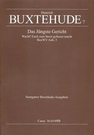 Das Jüngste Gericht. BuxWV Anh 3 - BUXTEHUDE - laflutedepan.com
