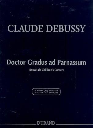 Doctor Gradus Ad Parnassum DEBUSSY Partition Piano - laflutedepan