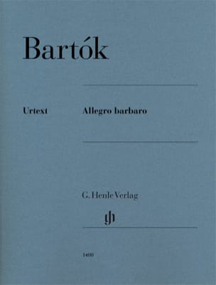 Allegro Barbaro BARTOK Partition Piano - laflutedepan