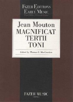 Magnificat Tertii Toni Jean Mouton Partition Chœur - laflutedepan