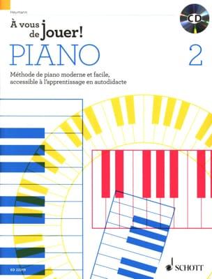A vous de jouer PIANO ! - Volume 2 Hans-Günter HEUMANN laflutedepan