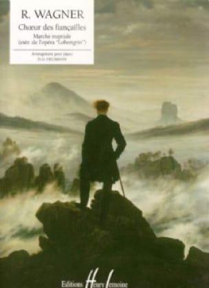 Richard Wagner - Choeur Des Fiançailles - Partition - di ...