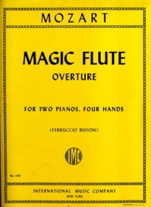 Magic Flute Overture. 2 Pianos - MOZART - Partition - laflutedepan.com