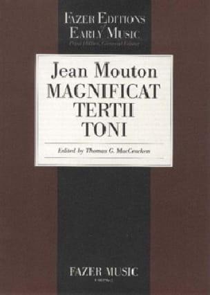 Magnificat Tertii Toni - Jean Mouton - Partition - laflutedepan.com