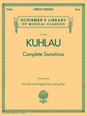 Complete Sonatinas Friedrich Kuhlau Partition Piano - laflutedepan
