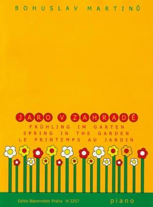 Jaro V Zahrade - MARTINU - Partition - Piano - laflutedepan.com