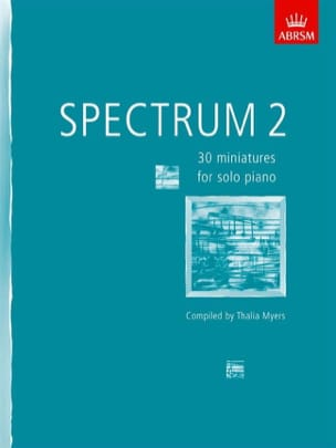 Spectrum 2 Partition Piano - laflutedepan