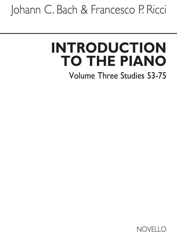Introduction To The Piano Volume 3 - laflutedepan.com