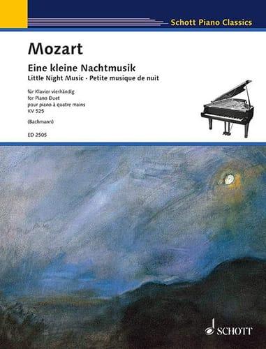 Petite Musique de Nuit K 525. 4 Mains - MOZART - laflutedepan.com