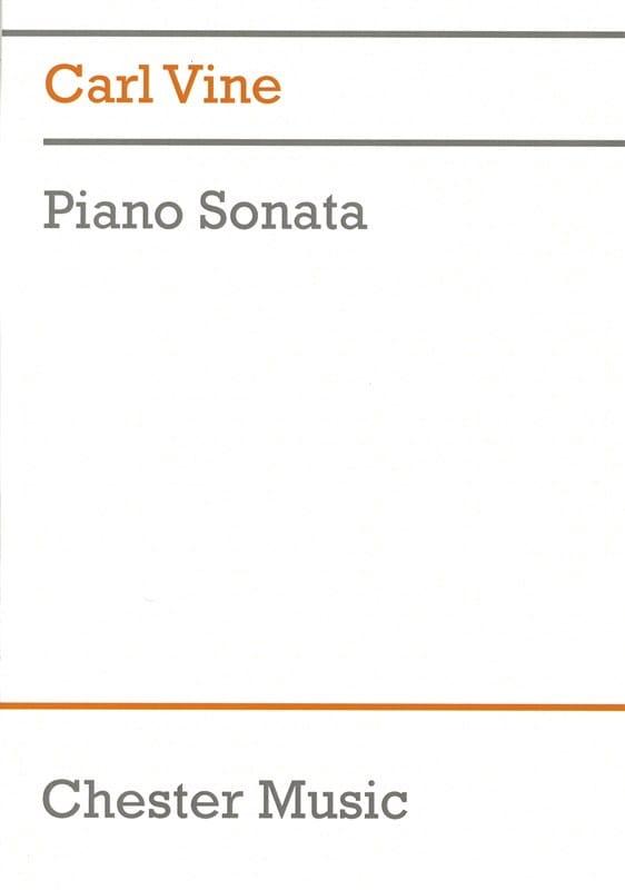 Sonate pour piano - Carl Vine - Partition - Piano - laflutedepan.com