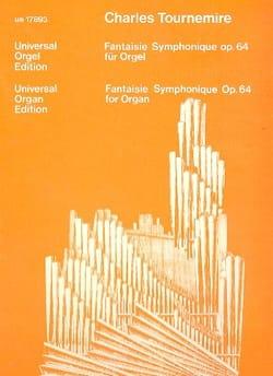 Fantaisie Symphonique Op. 64 Charles Tournemire Partition laflutedepan