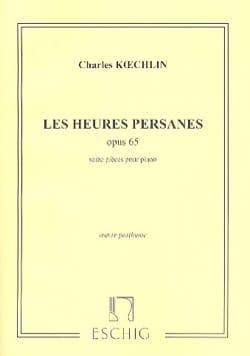 Les Heures Persanes Opus 65 Charles Koechlin Partition laflutedepan