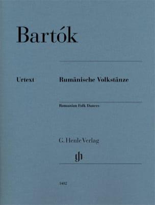 6 Danses Populaires Roumaines BARTOK Partition Piano - laflutedepan
