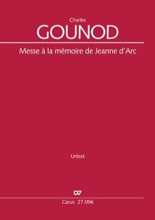 Messe à la mémoire de Jeanne d'Arc CG 74 GOUNOD Partition laflutedepan