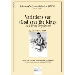 Variations sur God Save The King - laflutedepan.com