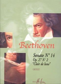 Sonate pour piano n° 14 en ut dièse mineur Opus 27 n° 2 laflutedepan