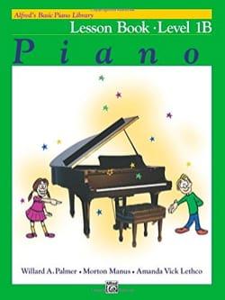 Lesson Book Level 1B ALFRED Partition Piano - laflutedepan