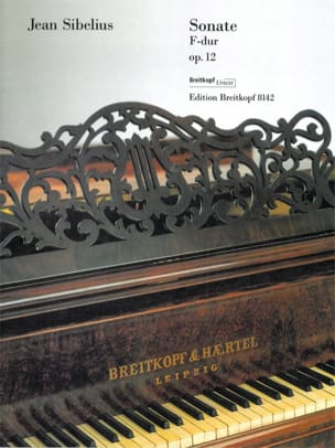 Sonate pour piano en fa majeur Opus 12 SIBELIUS Partition laflutedepan
