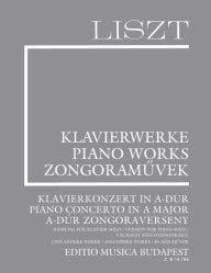 Concerto en La et pièces diverses. Supplément 15 LISZT laflutedepan