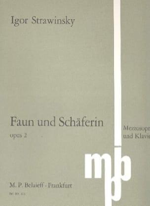 Le Faune et la bergère Opus 2 - STRAVINSKY - laflutedepan.com