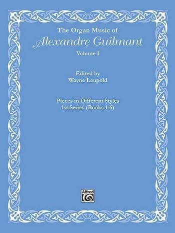 L'Oeuvre d'Orgue Volume 1 - Alexandre Guilmant - laflutedepan.be
