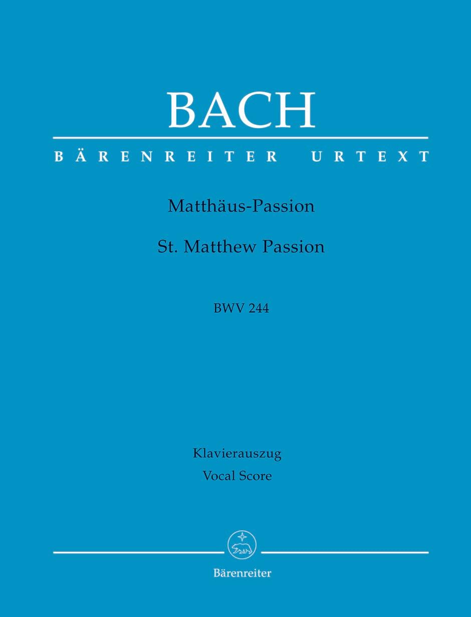 Passion selon Saint Matthieu - BWV 244 - BACH - laflutedepan.com