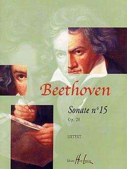 Sonate N°15 Pastorale Opus 28 - BEETHOVEN - laflutedepan.com