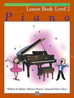 Lesson Book Level 2 - Piano ALFRED Partition Piano - laflutedepan