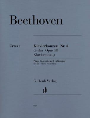 Concerto pour piano n° 4 en Sol majeur Opus 58 BEETHOVEN laflutedepan