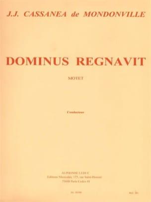 Dominus Regnavit. Conducteur laflutedepan