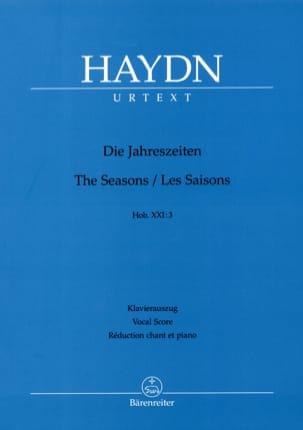 Les Saisons Hob XXI:3 (21-3) HAYDN Partition Chœur - laflutedepan
