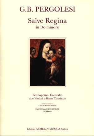 Giovanni Battista Pergolese - Salve Regina In C Minor para 2 voces - Partition - di-arezzo.es