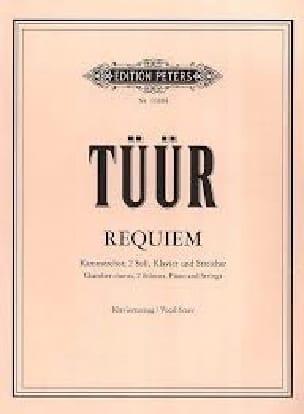 Requiem - Erkki-Sven Tüür - Partition - Chœur - laflutedepan.com