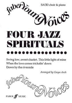 4 Jazz Spirituals Partition Chœur - laflutedepan