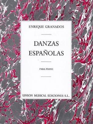12 Danses Espagnoles GRANADOS Partition Piano - laflutedepan
